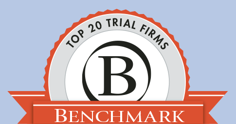 Top 20 Trial Firms - Benchmark