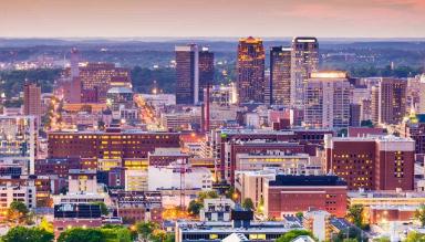 Birmingham city view