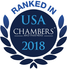 Ranked in USA Chambers 2018