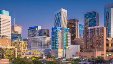 Houston city view